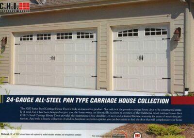 24 Gauge Steel Carriage Door By Campbell Overhead Door