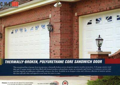 Polyurethane Sandwich Garage Door In San Jose